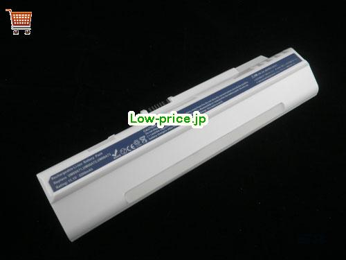 ACER UM08A74  バッテリー 4400mAh 11.1V White Li-ion