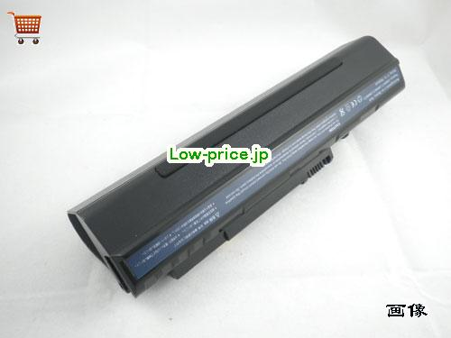 ACER UM08A74  バッテリー 6600mAh 11.1V Black Li-ion