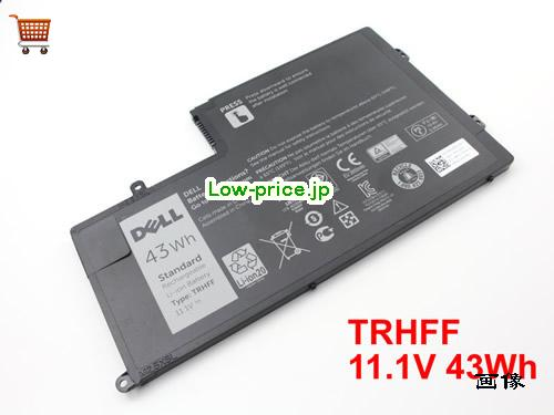 DELL 01WWHW  バッテリー 43Wh 11.1V Black Li-ion